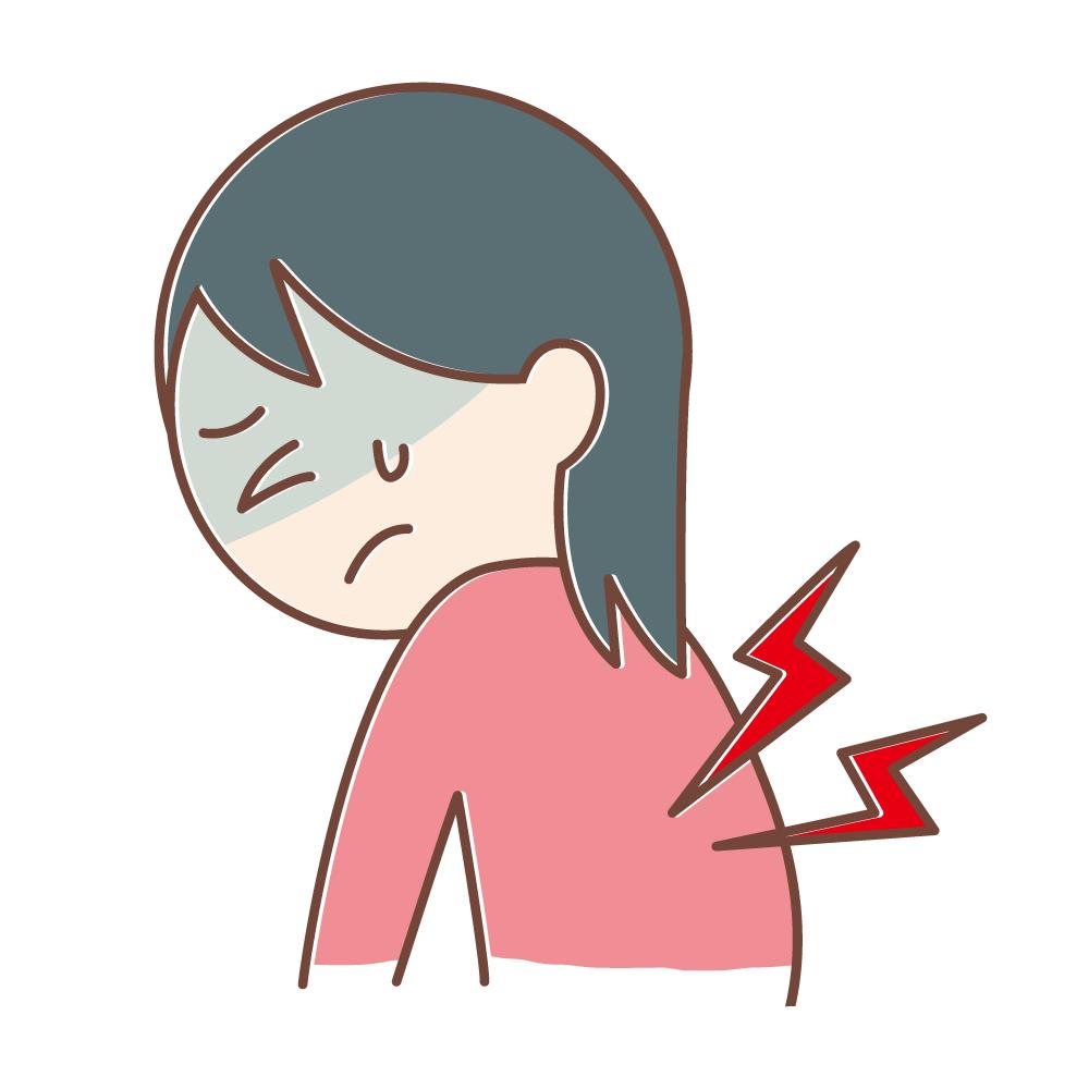 吸う 痛い が 息 と を 背中